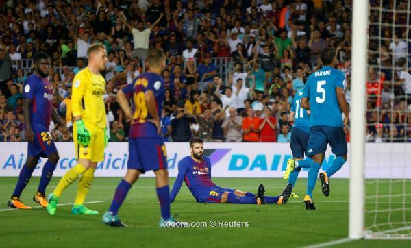 ريال مدريد يهزم برشلونة على ارضه بثلاثية مقابل هدف وحيد
