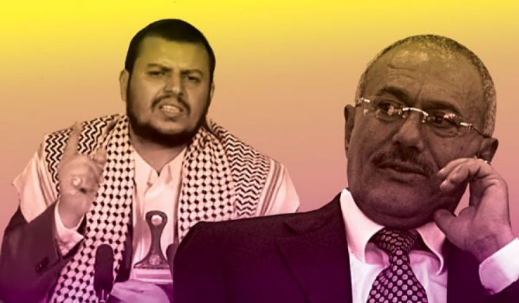 تصاعد الخلاف بين علي عبدالله صالح والحوثيين