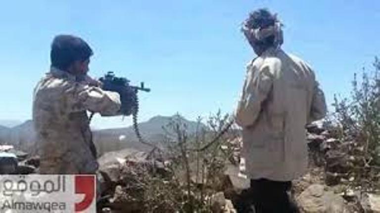 قوات الشرعية تصد هجوم للمليشيات الانقلابية على مواقعهم في قرن الصفراء بشبوة