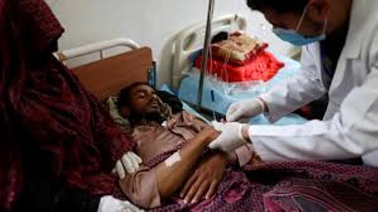 اليونيسف: عدد حالات الاصابة بوباء الكوليرا انخفض بنسبة الثلث