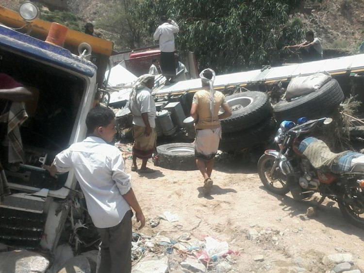 مقتل 5 اشخاص في جبلة بمحافظة اب بسبب تدفق السيول
