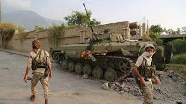 مصرع قياديين في المليشيات الانقلابية بنيران الجيش الوطني شرق تعز