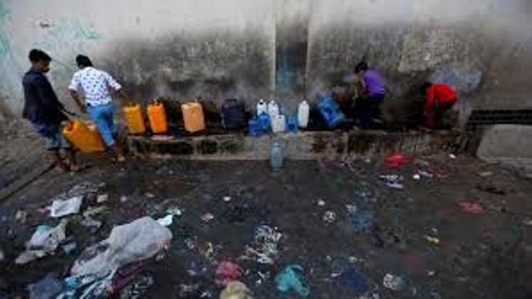 الصحة العالمية: ارتفاع وفيات وباء الكوليرا في اليمن الى 2043 حالة وفاة