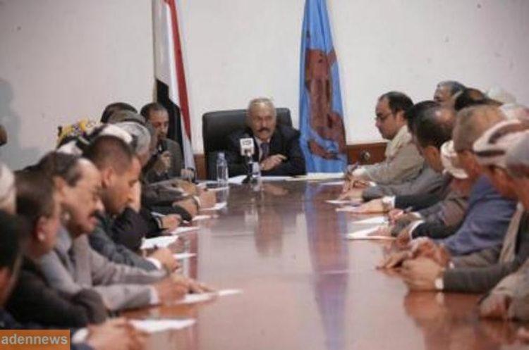 صالح: توصلنا مع الحوثيين الى ضرورة تعزيز الجبهة الداخلية وضرورة تماسكها وتوجيه كل الجهود لمواجهة العدوان