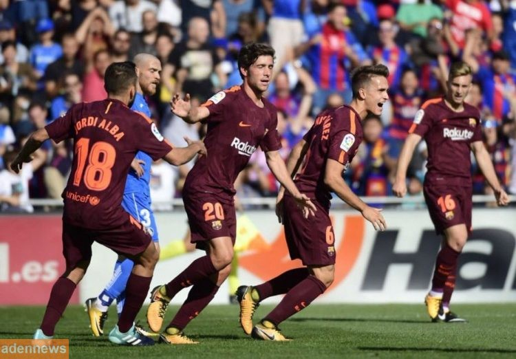 برشلونة يقلب خسارته إلى فوز على خيتافي