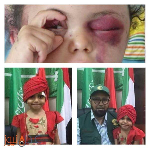 """عاجل.. شاهد اول صور للطفلة بثينة بعد وصولها العاصمة السعودية """" الرياض """""""