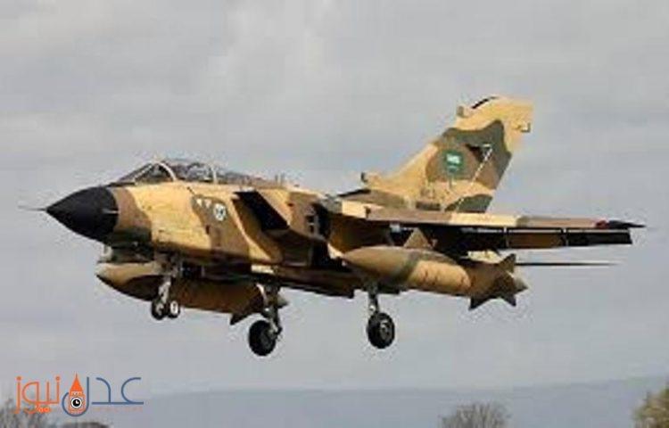 قوات التحالف العربي تشن غارات على مواقع الانقلابيين في نهم