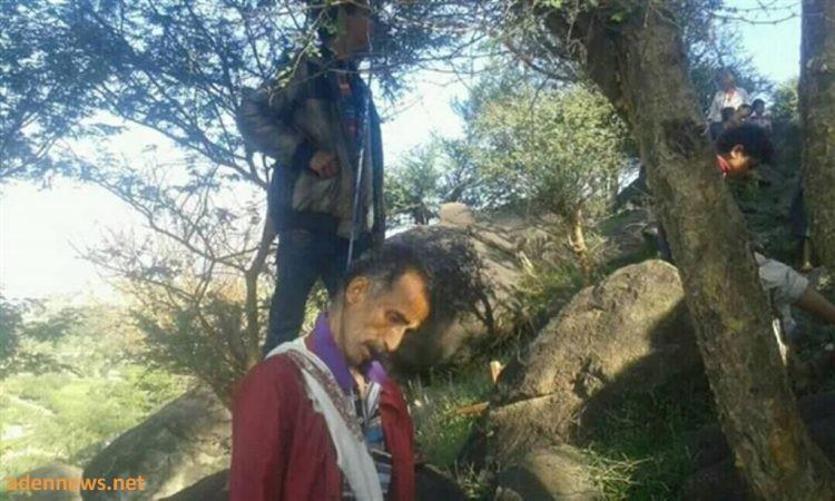 العثور على مواطن مشنوق على شجرة في مذيخرة بمحافظة إب