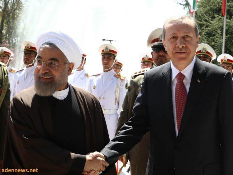 اردوغان في ضيافة روحاني بطهران