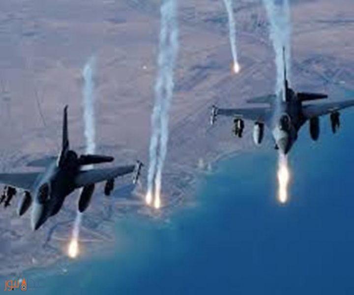 طيران التحالف العربي يشن غارات على مواقع وتجمعات مليشيا الحوثي في الجوف
