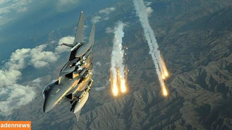 طيران التحالف العربي يجدد قصفه على مواقع المليشيات الانقلابية في صرواح