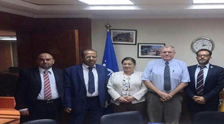 وزير شئون المغتربين يلتقي بالمدير الاقليمي لمنظمة الهجرة الدولية في مصر