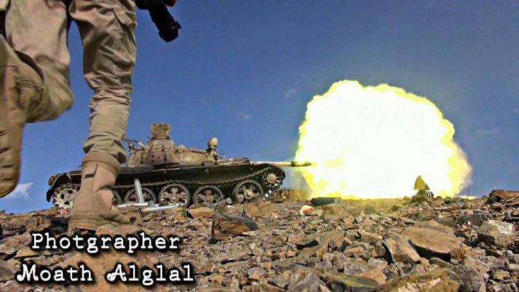 قوات الجيش الوطني تحبط هجوم للمليشيات الانقلابية على مواقعهم في الضالع