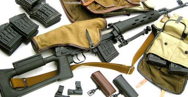 وزارة الداخلية تضبط مستودعات ومخازن أسلحة للمتطرفين بكميات كبيرة