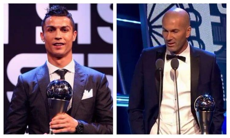 رونالدو افضل لاعب في العالم لخامس مرة في تاريخه، وزيدان أفضل مدرب