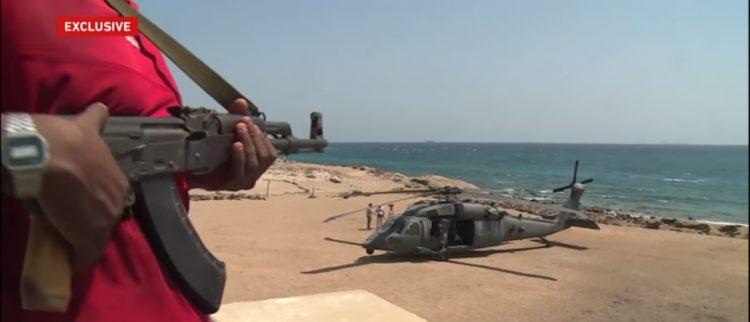 هام وخطير.. شاهد بالفيديو… قناة عربية تكشف تفاصيل القاعدة العسكرية الاماراتية في جزيرة ميون