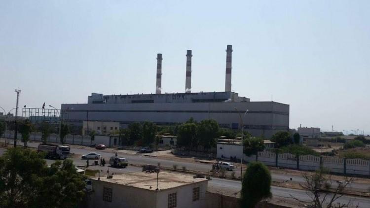 مصافي عدن تبدا بضخ اخر كمية متوفرة من المازوت الى محطات الكهرباء في عدن