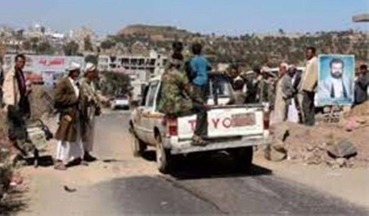 اندلاع اشتباكات في إب وجماعة الحوثي تسطو على ارضية شيخ موالي للشرعية وتشرع بالبناء عليها