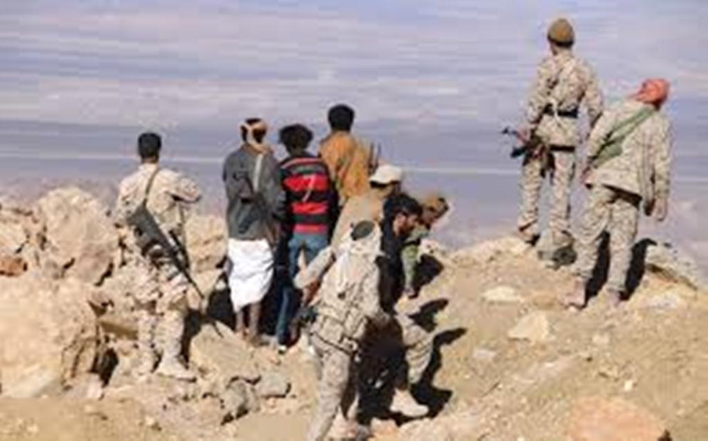 مصرع 23 من المليشيات الانقلابية وتحرير 3 جبال في مديرية نهم