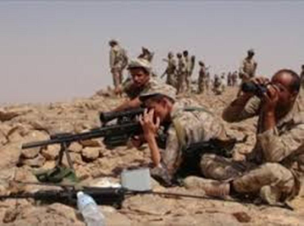 """قوات الجيش الوطني تبدء معركة تحرير نقيل """"بن غيلان"""" شرق العاصمة صنعاء"""