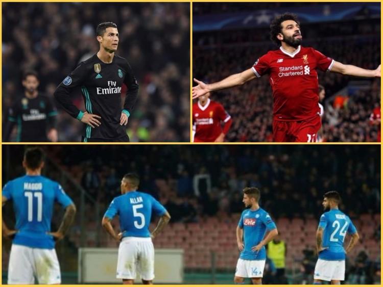 دوري الابطال.. ريال مدريد يترنح وليفربول يتألق والسيتي يقضي على آمال نابولي
