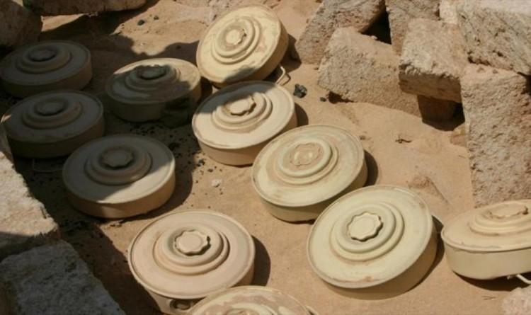 مقتل واصابة 8 مدنيين من اسرة واحدة بانفجار لغم ارضي في الخوخة