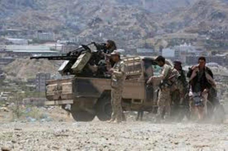قوات الجيش الوطني تفشل هجمات متعددة للمليشيات الانقلابية في جبهات تعز