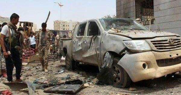 """الاستخبارات العسكرية في عدن تتهم """"شلال شائع"""" بالتخاذل وتكشف عن إبلاغه احتمالية هجوم إرهابي قبل 4 أيام"""