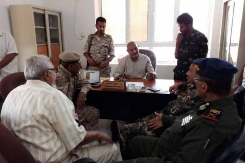 اجتماع امني في عدن يناقش تداعيات الهجوم على مبنى البحث الجنائي في المحافظة