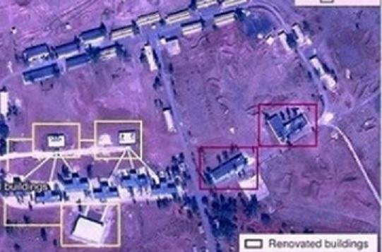 """شاهد بالصور.. إيران تبني """"قاعدة عسكرية"""" ضخمة في هذه الدولة العريية"""