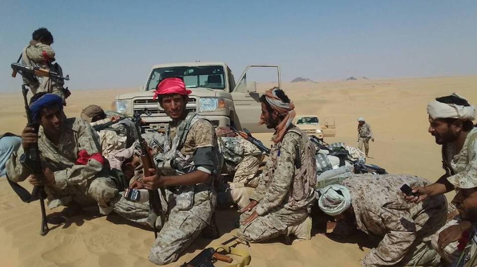 مقتل 5 من مسلحي جماعة الحوثي بمعارك ضد قوات الجيش الوطني بمحافظة الجوف