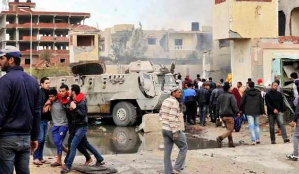 مصر.. مقتل 235 واصابة 130 شخصاً في هجوم ارهابي على مصلين بمسجد شمال سيناء