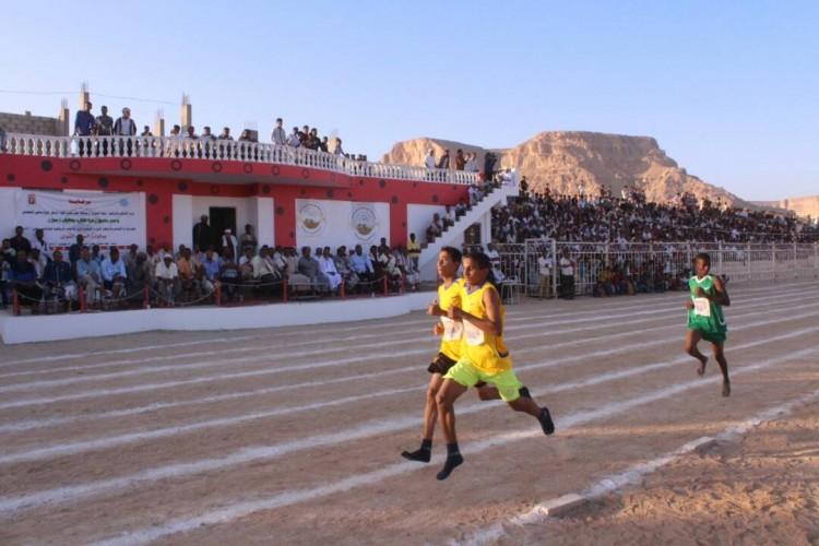 اختتام بطولة العاب القوى بعدن بفوز منتخب وادي حضرموت بالمركز الاول