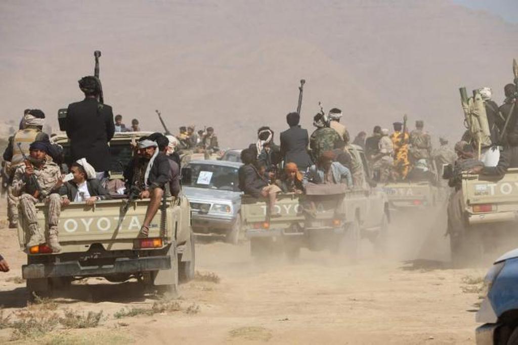 اندلاع اشتباكات بين مليشيا الحوثي وبين مسلحين من اهالي مديرية سنحان في صنعاء