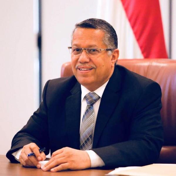 بن دغر يهنئ الرئيس هادي بالذكرى السابعة لثورة فبراير