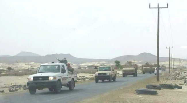 ورد الان.. عدد كبير من الآليات العسكرية السعودية تصل المهرة (صورة)