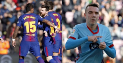 سيلتافغو يفاجئ برشلونة على ملعبه ويحقق التعادل