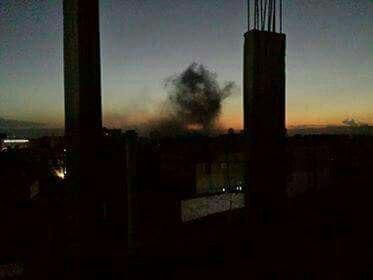 عاجل.. التحالف العربي يكثف غاراته الجوية على العاصمة صنعاء ويدمر دبابة تابعة للمليشيا