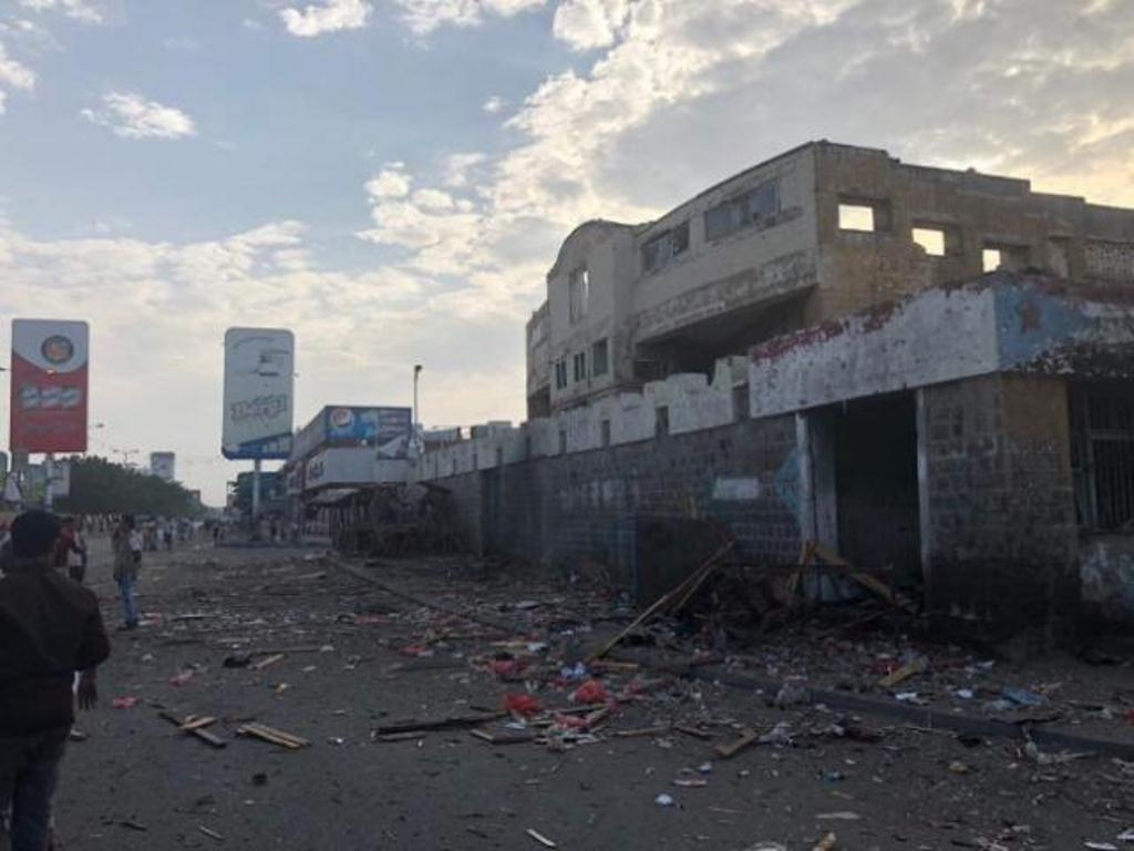 إنفجار عنيف يهز مديرية المنصورة في عدن وإصابة 2 من المواطنين في الإنفجار