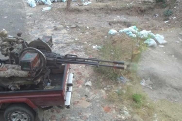 قوات الجيش الوطني تحبط هجوم للمليشيات الانقلابية في تعز والاخيرة ترد بقصف عنيف على الاحياء السكنية