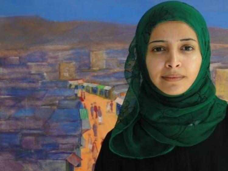 بشرى المقطري تهاجم الحزام الامني في عدن واعلاميين يتزعمون حملة لإعاقة إيواء النازحين من صنعاء
