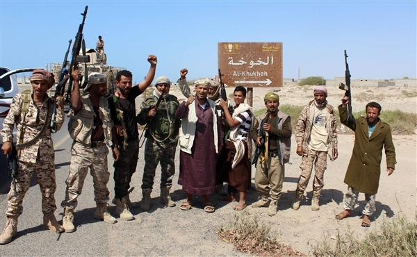 قوات الجيش الوطني تحبط محاولة تسلل للحوثيين في الخوخة