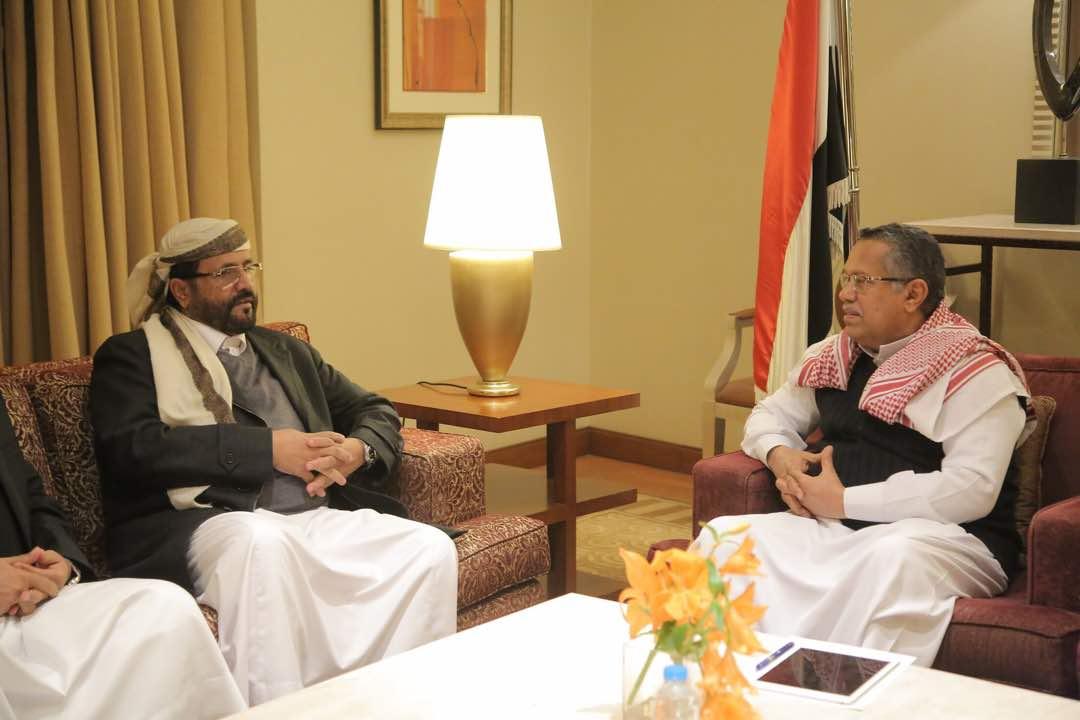تفاصيل اللقاء الذي جمع محافظ مارب العرادة مع رئيس الوزراء بن دغر