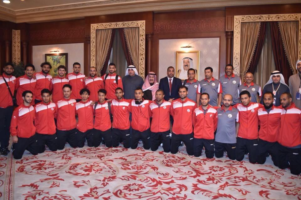 المنتخب اليمني يخسر مباراته الثانية امام البحرين في خليجي 23