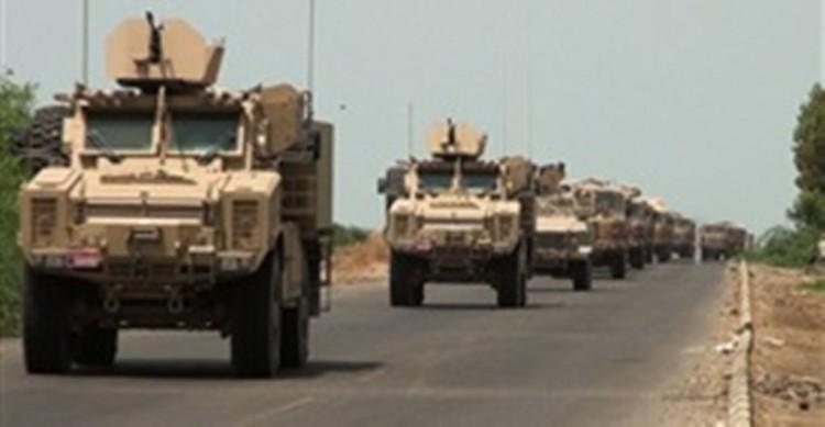 قوات الجيش الوطني تحرر طريق صعدة الجوف