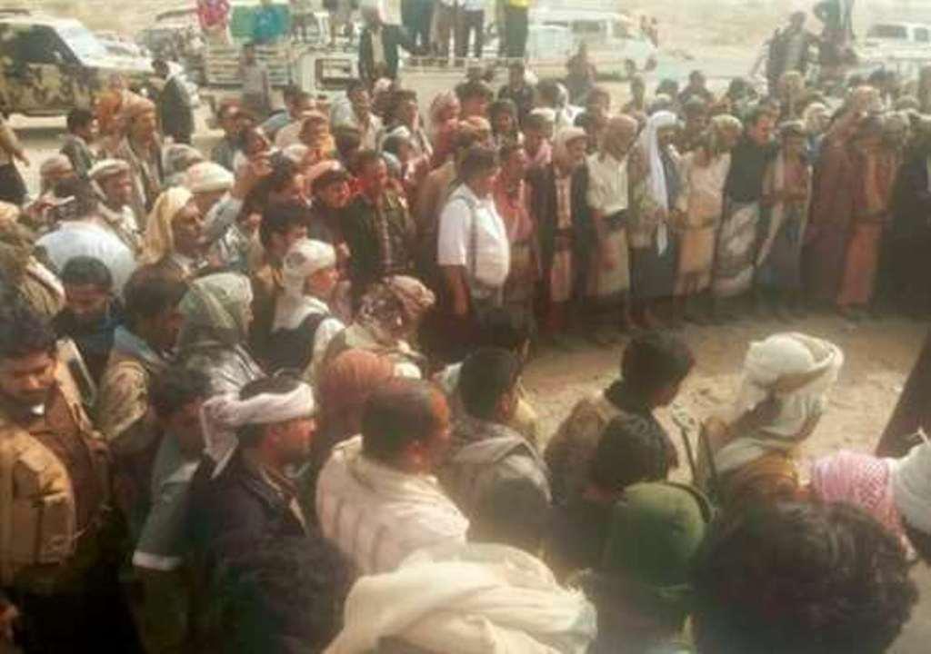 تبادل 241 أسيرا بين قوات الجيش الوطني وبين مليشيا الحوثي في شبوة