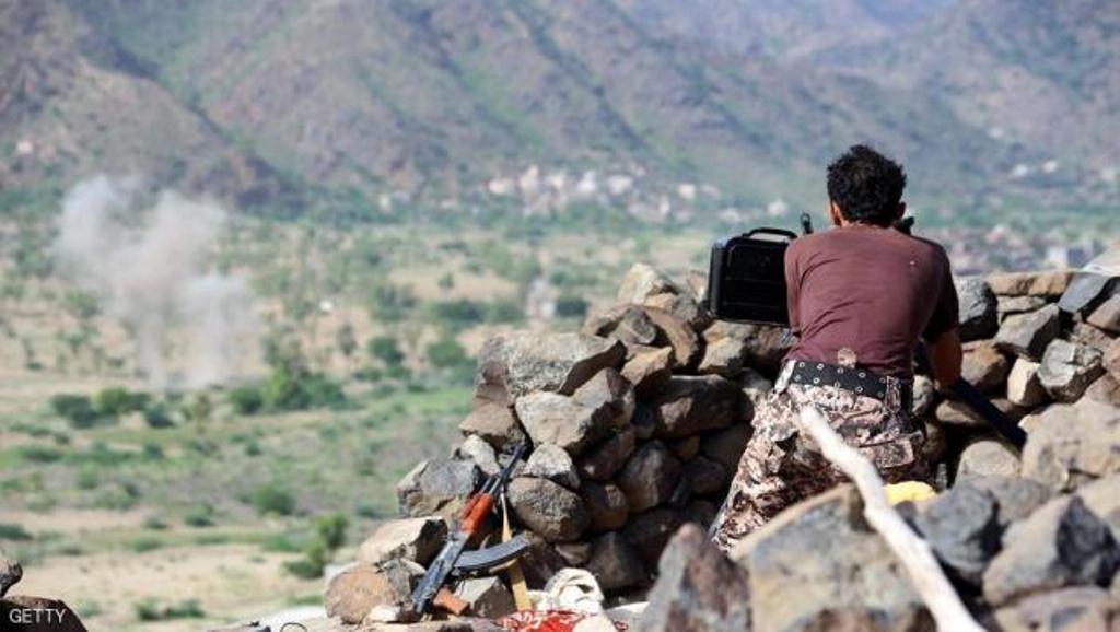 قيادي حوثي يلقى مصرعه بنيران قوات الجيش الوطني في محافظة تعز