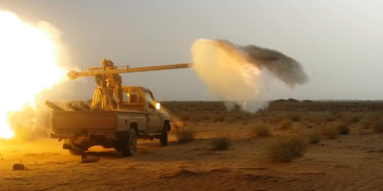 مصرع 40 حوثيا في مواجهات مع قوات الجيش الوطني وغارات لطيران التحالف في ميدي