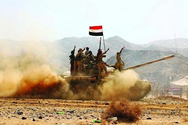 قوات الجيش تحرر مواقع جديدة وتستكمل محاصرة باقم بصعدة