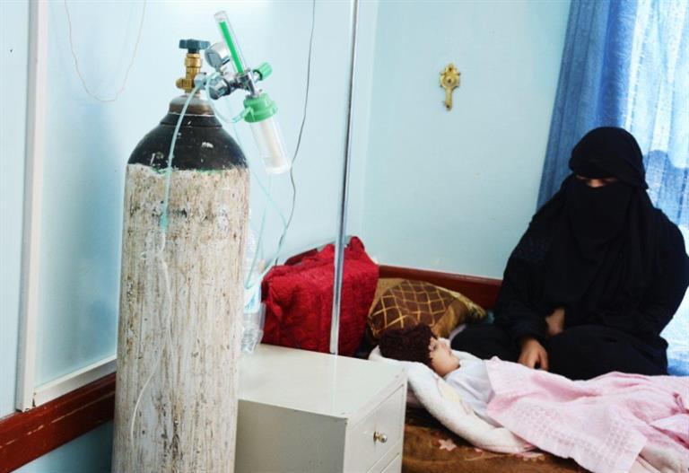 الدفتيريا يقتل 73 شخص في اليمن منذ اغسطس